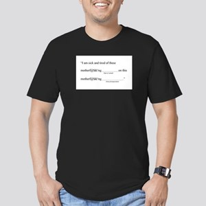 Samuel Madlib Men's Fitted T-Shirt (dark)