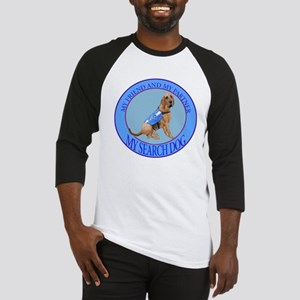 bloodhound search dog Baseball Jersey