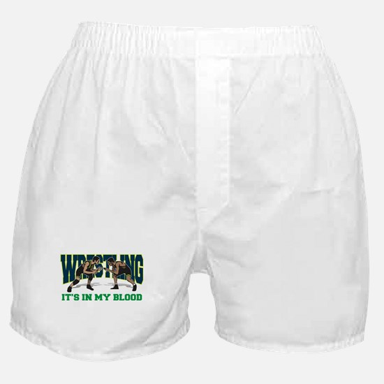 Wrestling It's In My Blood Boxer Shorts