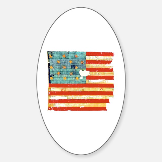 Star-Spangled Banner Oval Decal