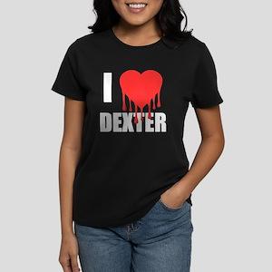 I Love Dexter Women's Dark T-Shirt