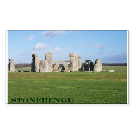 Stonehenge 1 Sticker (Rectangle)