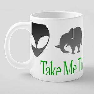 takemetoyourleader 20 oz Ceramic Mega Mug