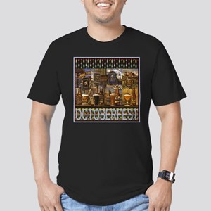 OKtoberfest Best Men's Fitted T-Shirt (dark)