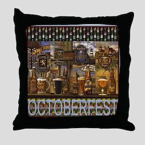 OKtoberfest Best Throw Pillow