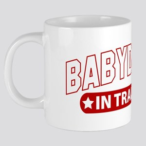 BabbyDaddyInTraining-Black. 20 oz Ceramic Mega Mug