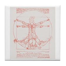 Da Vinci Jeremy Tile Coaster