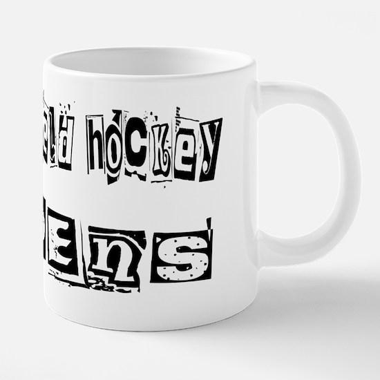 wg162_Playing-Field-Hockey. 20 oz Ceramic Mega Mug