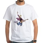 Rock Star Jeremy White T-Shirt