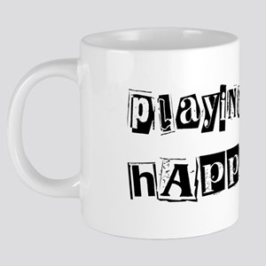 wg326_Playing-Piano 20 oz Ceramic Mega Mug