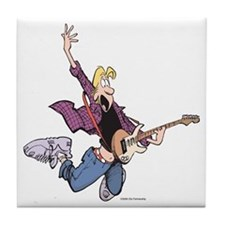 Rock Star Jeremy Tile Coaster