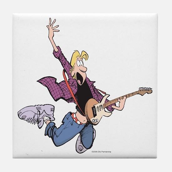 Rock Star Jeremy Tile Coaster