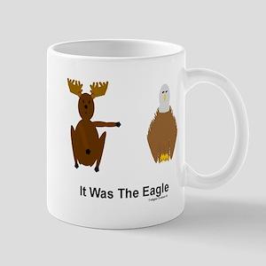 Moose Blames Eagle Mug