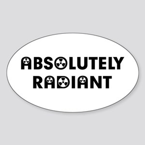 Absolutely Sticker (Oval)