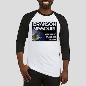 branson missouri - greatest place on earth Basebal