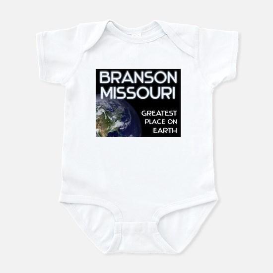 branson missouri - greatest place on earth Infant