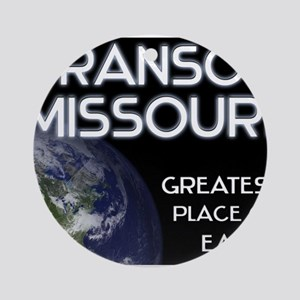 branson missouri - greatest place on earth Ornamen