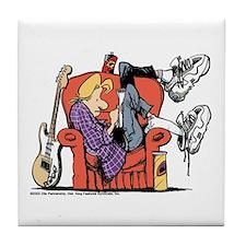 Studious Jeremy Tile Coaster