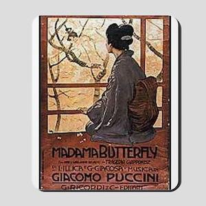 Madama Butterfly Mousepad