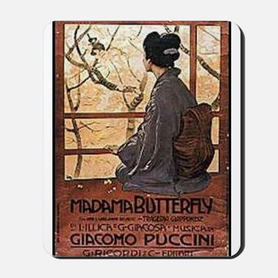 Madama Butterfly Mousepad