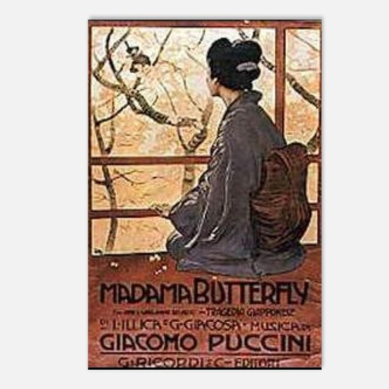 Madama Butterfly Postcards (Package of 8)