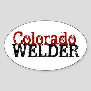 Colorado Welder Oval Sticker