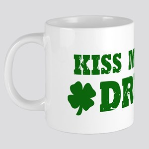 1kiss me im drunk 20 oz Ceramic Mega Mug