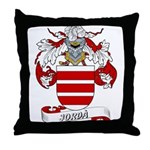 Jordà Coat of Arms Throw Pillow