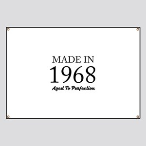 Made In 1968 Banner