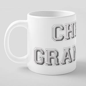cheer_gma_4bk 20 oz Ceramic Mega Mug