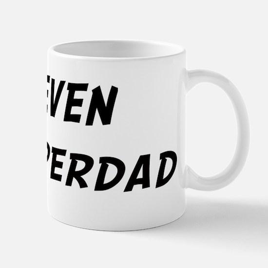 Keven is Superdad Mug