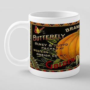 Vintage Fruit Crate Label 20 oz Ceramic Mega Mug