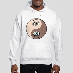 Yin Yang Anime Hooded Sweatshirt