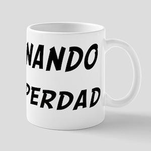 Fernando is Superdad Mug