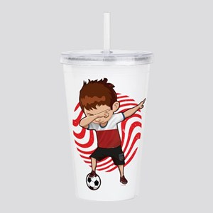 Football Dab Poland Po Acrylic Double-wall Tumbler