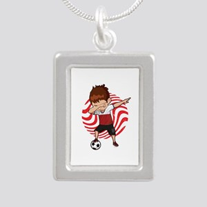 Football Dab Poland Poles Footballer Dab Necklaces
