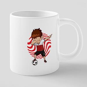 Football Dab Poland Poles Footballer Dabbing Mugs