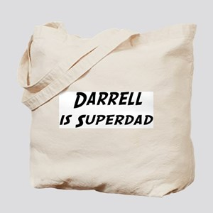 Darrell is Superdad Tote Bag
