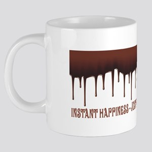 Instant Happiness 20 oz Ceramic Mega Mug