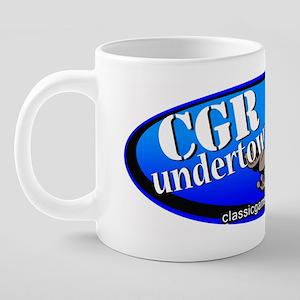 CGRundertow Decal_rev 20 oz Ceramic Mega Mug