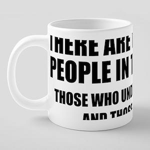 TypesBinary1A 20 oz Ceramic Mega Mug