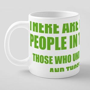 TypesBinary1D 20 oz Ceramic Mega Mug