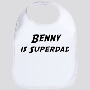 Benny is Superdad Bib