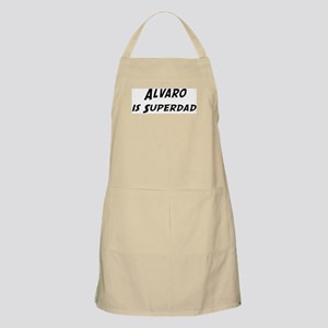Alvaro is Superdad BBQ Apron