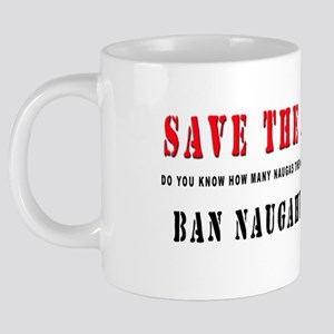 Save the Naugas 001 20 oz Ceramic Mega Mug