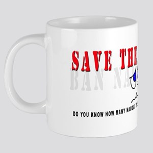 Save the Naugas 002 20 oz Ceramic Mega Mug
