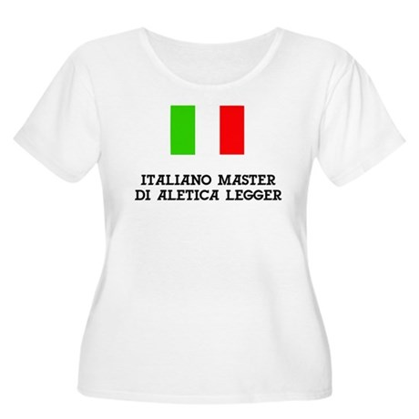 Italy Masters Women's Plus Size Scoop Neck T-Shirt