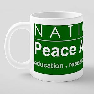 NPA logo 20 oz Ceramic Mega Mug
