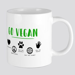 Go Vegan 20 oz Ceramic Mega Mug