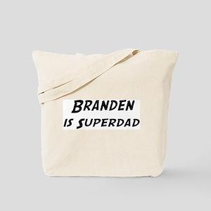 Branden is Superdad Tote Bag